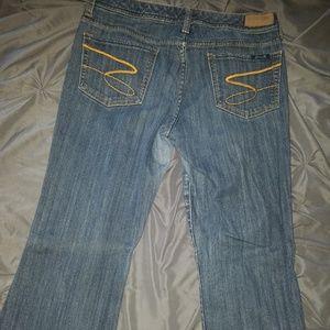 Men's Seven7, medium blue,  skinny jeans